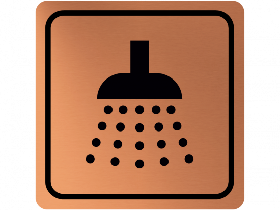 Указателна табела душ - мед