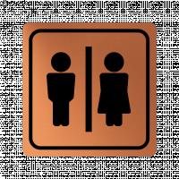 Указателна табела мъж и жена - мед