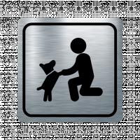Указателна табела домашен любимец - инокс