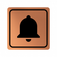 Указателна табела камбана - мед