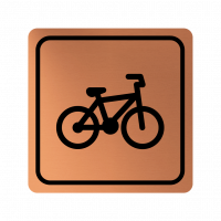 Указателна табела велосипед - мед