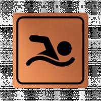Указателна табела плуване - мед