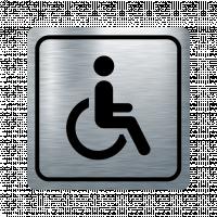 Указателна табела инвалид - инокс
