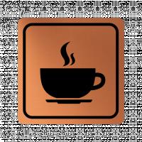 Указателна табела чаша кафе - мед