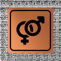 Указателна табела знак за пол - мед