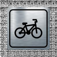Указателна табела велосипед - инокс