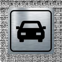 Указателна табела кола - инокс
