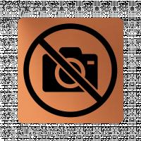 Забранителна табела фотоапарат - мед