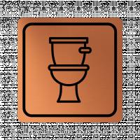 Указателна табела тоалетна - мед