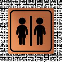 Указателна табела жена и мъж - мед